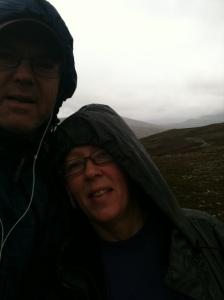 Vandring i ett regnigt Grövelsjön.. var nog samma helg som vi gifte oss.. när nu det var? Fjällkyrkan i Grövelsjön var det i alla fall :) Min fru är lika dålig på att komma ihåg datumet också !