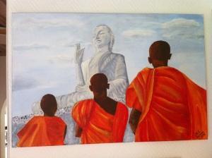 Vördnad för buddha