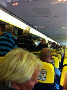 Kaos på flyget