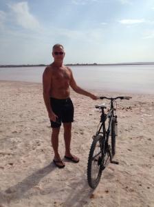 Nu vill jag ner o cykla i värmen igen... Längtar