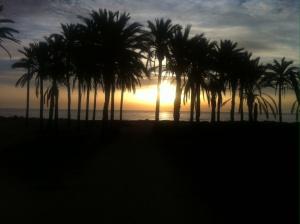 Taget på morgonen men ser ut att vara på kvällen :) fint var det.. Soluppgång..