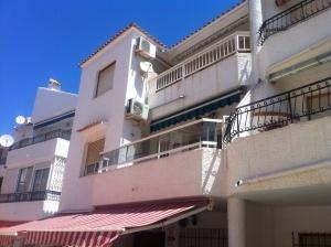 Vår sköna balkong..
