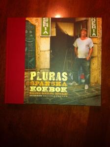 Pluras spanska kokbok fick jag av barnen :) Tackar..