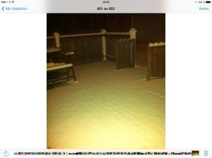 Blev inte mycket snö idag, de räcker så bra :)