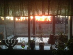 dessa solnedgångar som är så magiska...