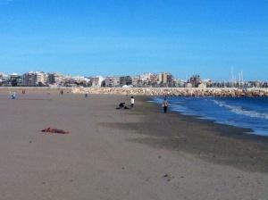 Los Naufragos idag, en badar och en solar :)